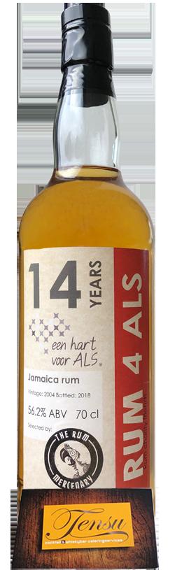 """The Rum Mercenary Monymusk 14 Years Old """"Rum 4 ALS"""""""