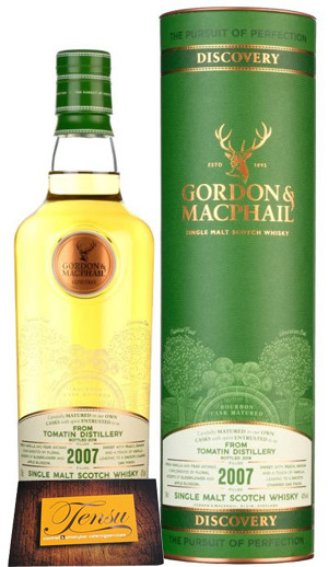 "Tomatin 11 Years Old - Discovery Range ""Gordon & MacPhail"""