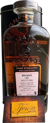 Ben Nevis 27 Years Old (1991-2019)