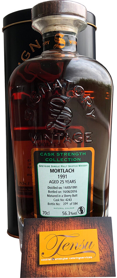 "Mortlach 25 Years Old (1991-2016) ""Signatory"""