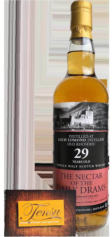 "Old Rhosdhu (Loch Lomond) 29 Years Old (1990-2019) - Daily Drams ""The Nectar"""