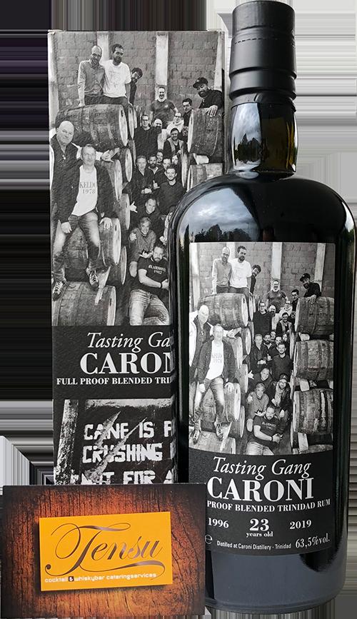 "Caroni Tasting Gang 23 Years Old Trinidad Rum (1996-2019) ""La Maison and Velier"""