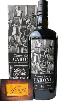 Caroni Tasting Gang 23 Years Old Trinidad Rum (1996-2019)
