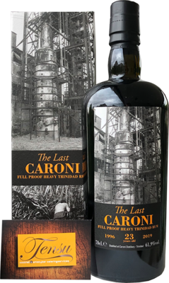 Caroni The Last 23 Years Old Trinidad Rum (1996-2019)