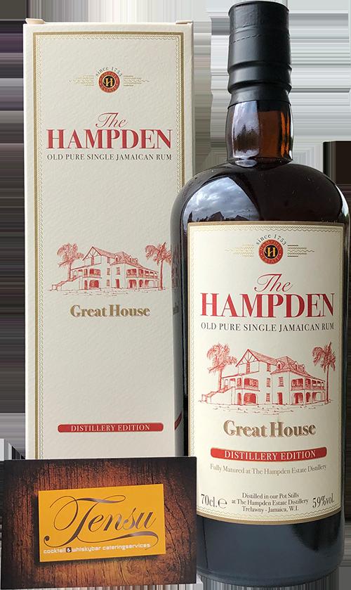 "Hampden Great House (Distillery Edition) ""La Maison and Velier"""