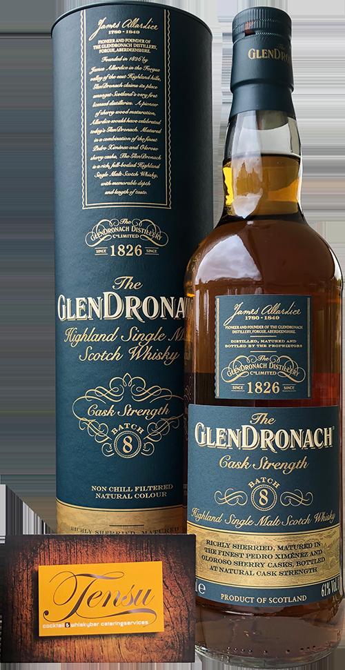 """GlenDronach Cask Strenght """"Batch 8"""""""