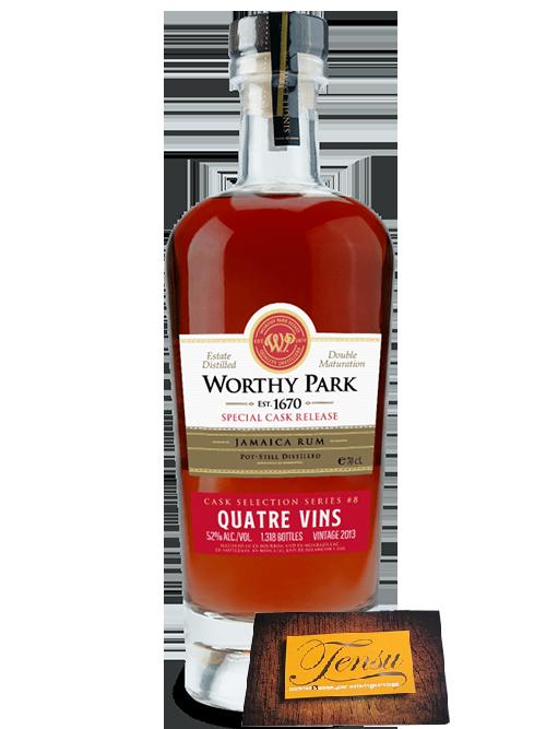 Worthy Park Vintage 2013 Quatre Vins