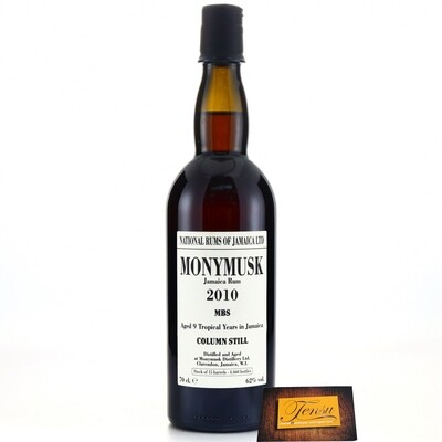 Monymusk 9 Years Old (2010-2019) MBS