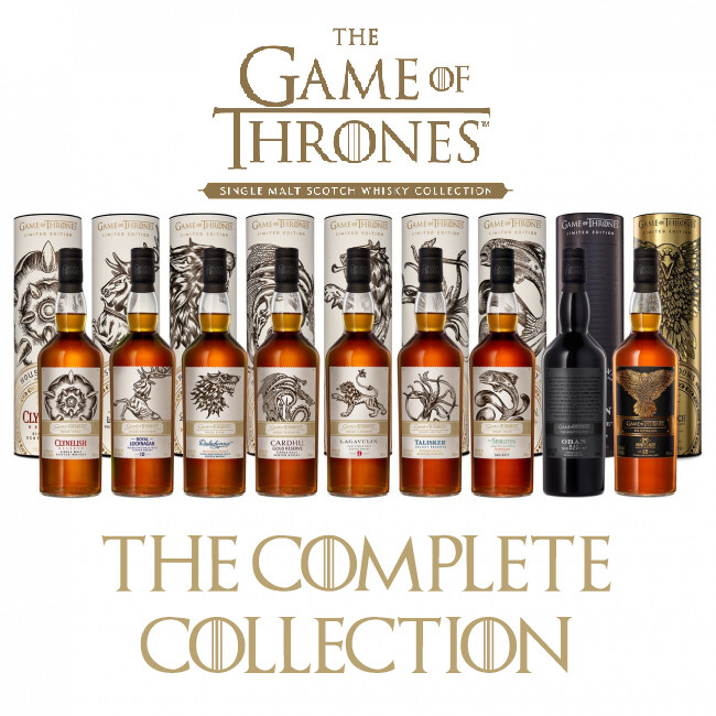 Game Of Thrones - The Complete Whisky Collection (Set of 9 bottles)