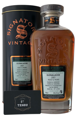Glenallachie 12 Years Old (2007-2020)