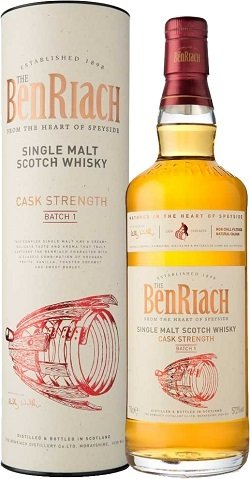 """BenRiach Cask Strenght """"Batch 1"""""""