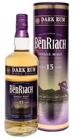 BenRiach 15 Years Old Dark Rum Finish