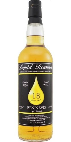 "Ben Nevis 18 Years Old (1996-2014) ""Liquid Treasures"""