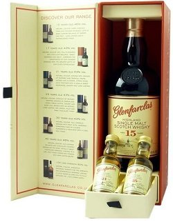 Glenfarclas 15 Years Old - Giftpack 21Y+25Y