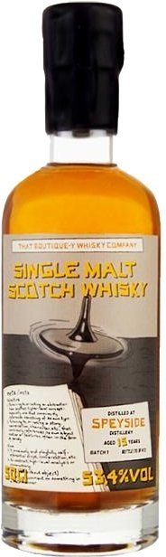 "Speyside 15 Years Old - Batch 1 ""That Boutique-Y Whisky Company"""