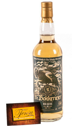 "Ben Nevis 18 Years Old (1998-2017) - Bokkeriejer ""The Whisky Mercenary"""