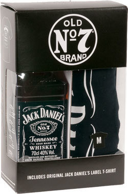 "Jack Daniel's Old N°7 ""70cl bottle + Tshirt"""
