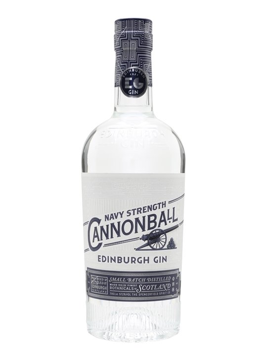 Cannonball Navy Strenght Gin