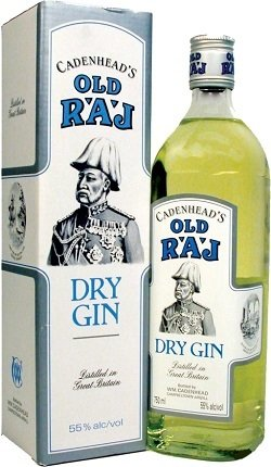 Old Raj Blue Gin