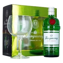 """Tanqueray Premium Gin """"Giftpack"""""""