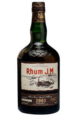 "Rhum J.M. 12 Years Old ""Martinique Vintage 2003"""