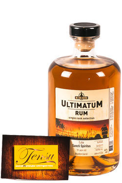 "Ultimatum Rum - 18 Years Old ""Cuba Vintage 1999"""