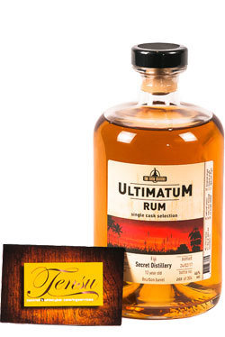 "Ultimatum Rum - 12 Years Old ""Fiji Vintage 2004"""