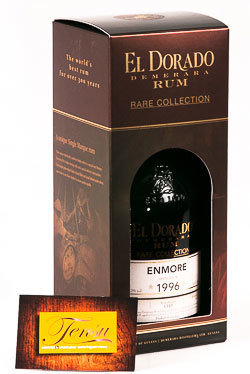 """Enmore 21 Years Old (1996-2017) """"El Dorado"""""""