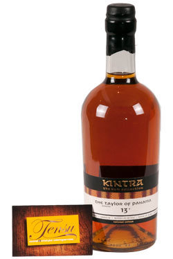 """The Taylor 13 Years Old Panama Rum (2004-2017) """"Kintra"""""""
