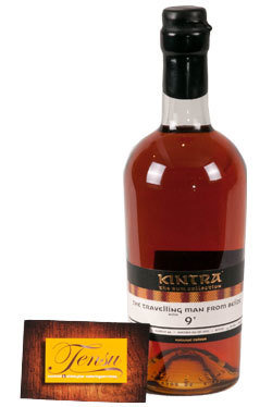 "The Travelling Man 9 Years Old Belize Rum (2007-2017) ""Kintra"""