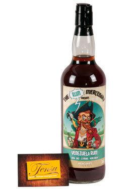 "The Rum Mercenary Venezuela 13 Years Old ""Venezuela Vintage 2004"""