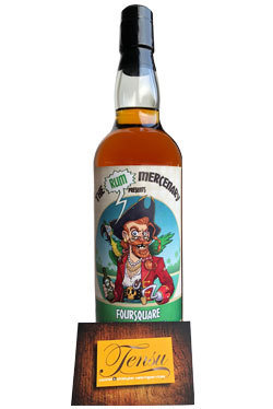 The Rum Mercenary Foursquare 12 Years Old