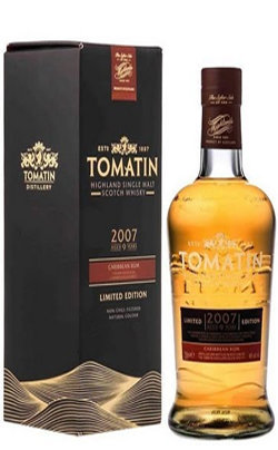 Tomatin 9 Years Old Caribbean Rum Cask