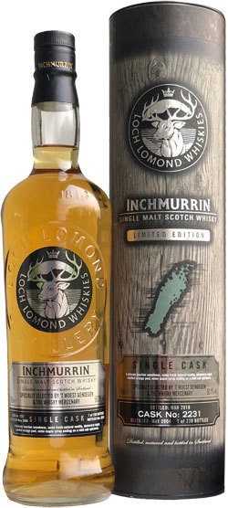 "Inchmurrin 13 Years Old (2004-2018) ""The Whisky Mercenary"""