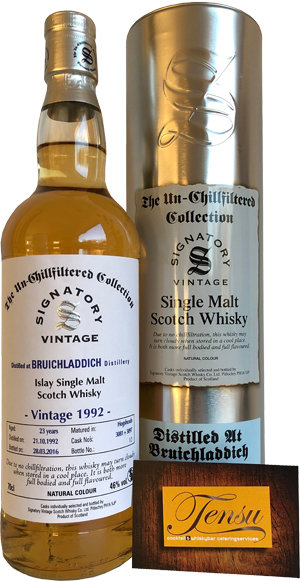 "Bruichladdich 23 Years Old (1992-2016) ""Signatory"""