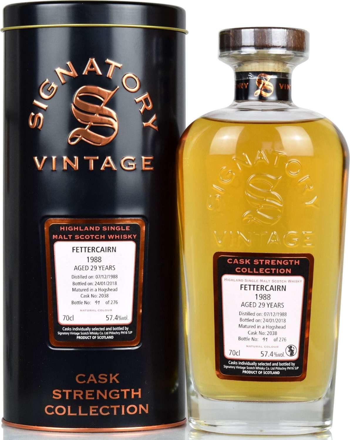 "Fettercairn 29 Years Old (1988-2018) ""Signatory"""