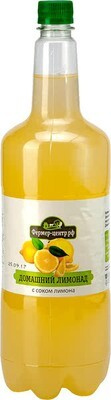 Газированный напиток Лимонад с фруктовым соком 1.5л