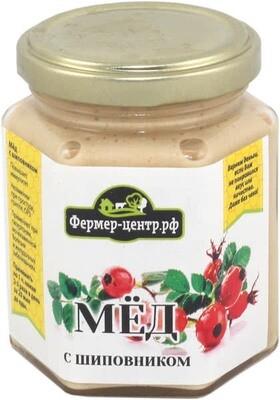 Мёд натуральный с шиповником 180г