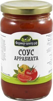 Соус Аррабиата Овощной для спагетти томат/острый перец 360г