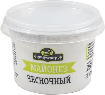 Майонез Чесночный 67% 250г