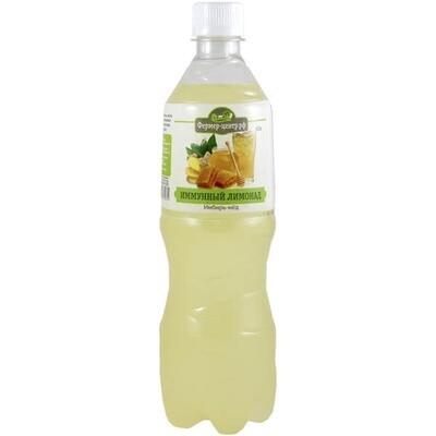 Лимонад Имунный с имбирем и медом, 0,7 л