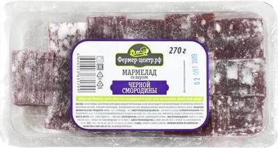 Мармелад со вкусом черной смородины, 270г