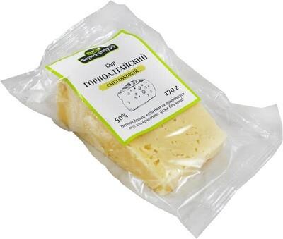 Сыр Горноалтайский Сметанковый, 50%, 170 г