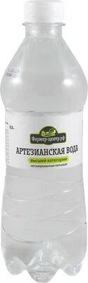 Питьевая вода Артезианская газ., 0,5 л