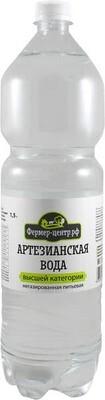 Питьевая вода Артезианская газ., 1,5 л