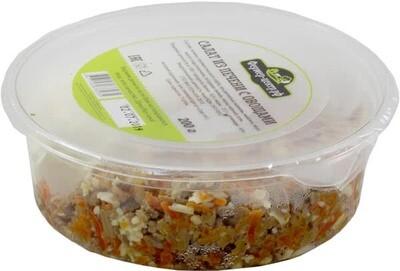 Салат из печени с овощами, 200г