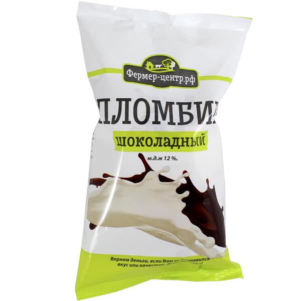 Мороженое пломбир ваниль/шоколад, 70г