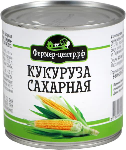 Кукуруза консервированная, 425мл