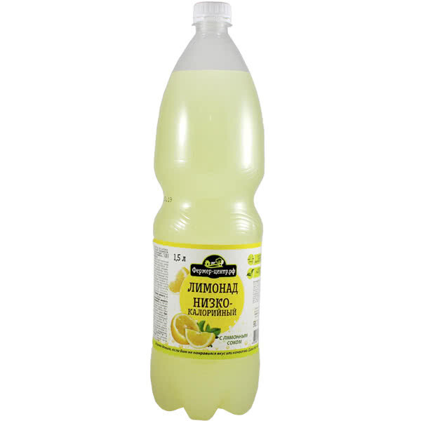 Газ. напиток Лимон, 1.5л