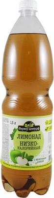 Газированный напиток Яблоко, 1.5л